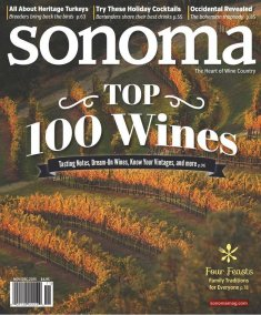 Sonoma Magazine Top 100 Wines