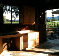 Tzabaco Rancho Vineyards Inside Crush Pad in Newsletter